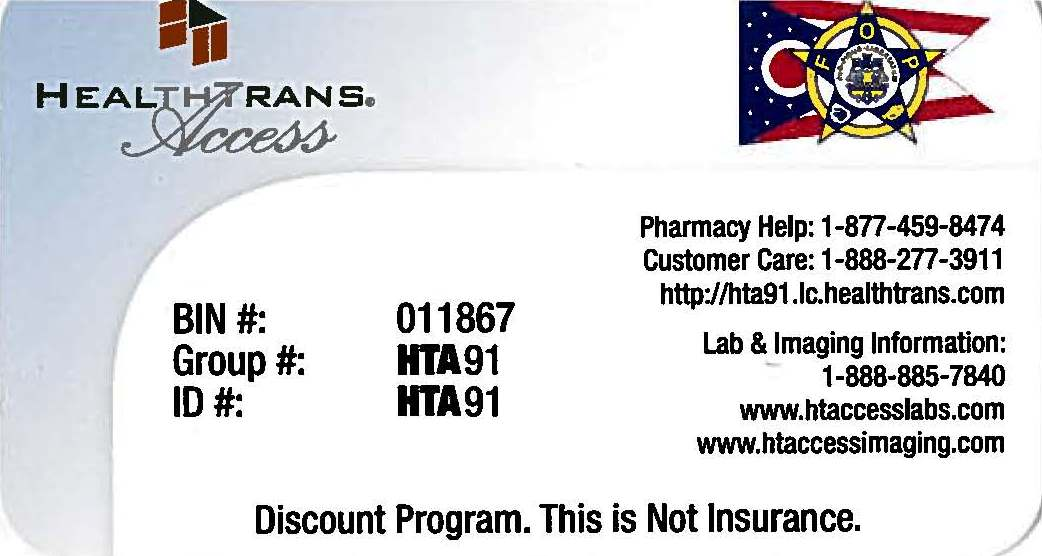 Beacon HealthTrans Access Card